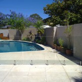 Poolside Glass Fencing